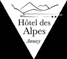 logo hotel Annecy - Hotel des Alpes