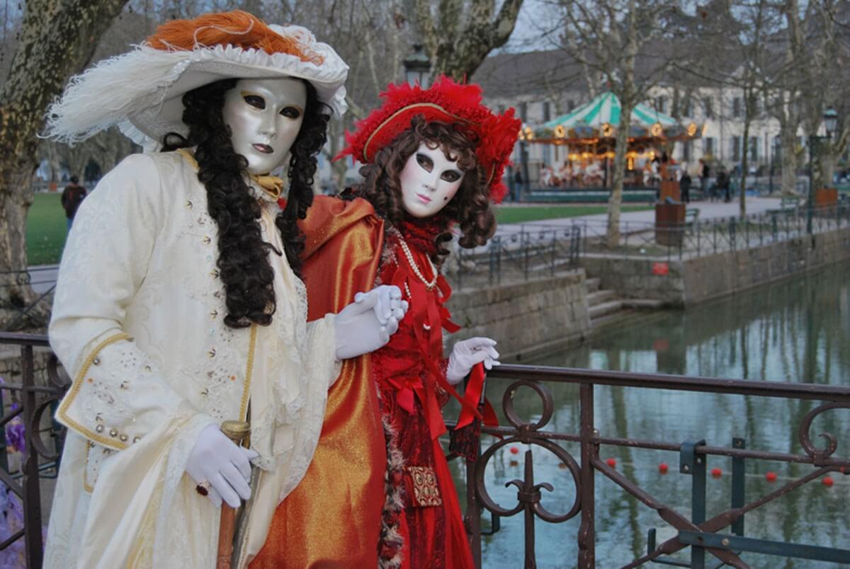 Carnaval Vénitien lors de vacances à Annecy