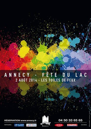 Fête du lac d'Annecy 2014 - Samedi 2 août - baie d'albigny