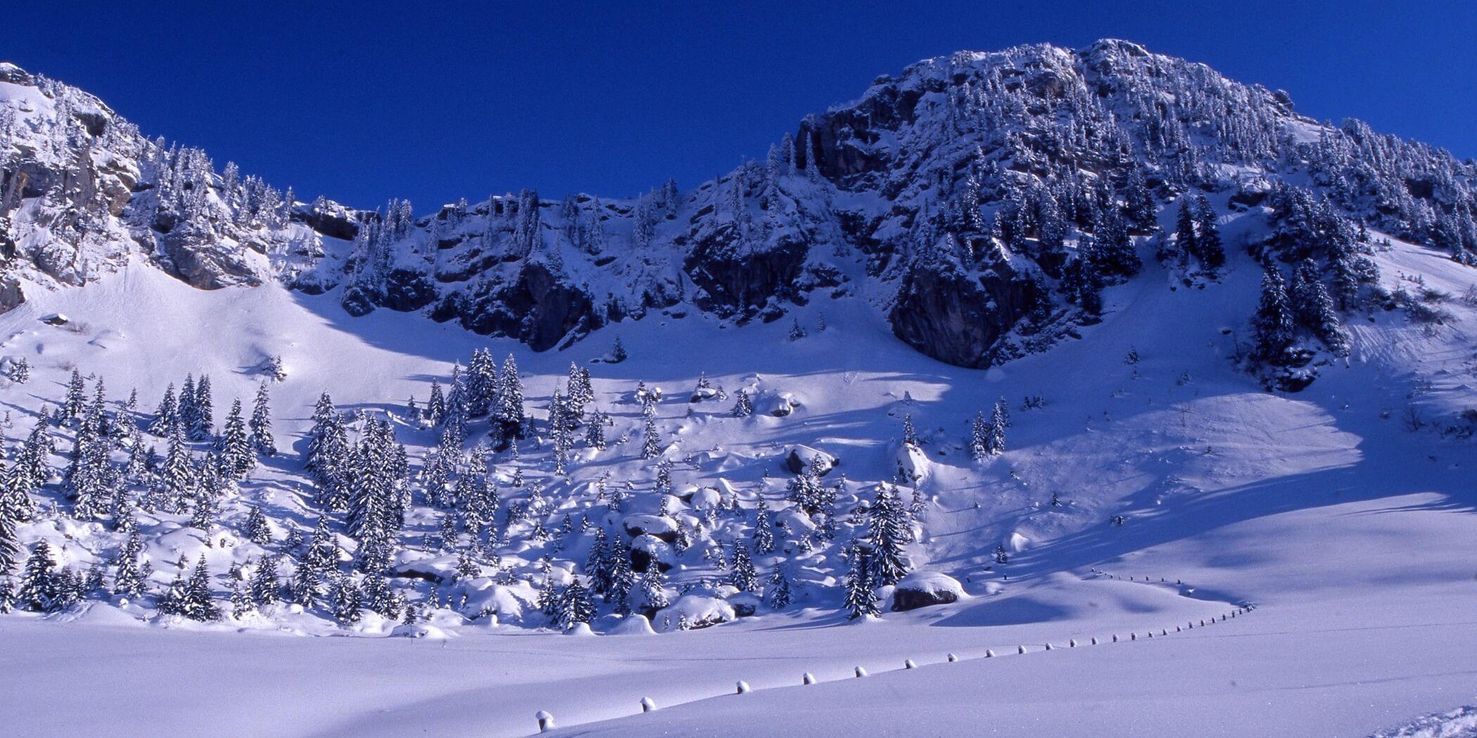 Lacs & Montagnes autour d'Annecy - sport d'hiver