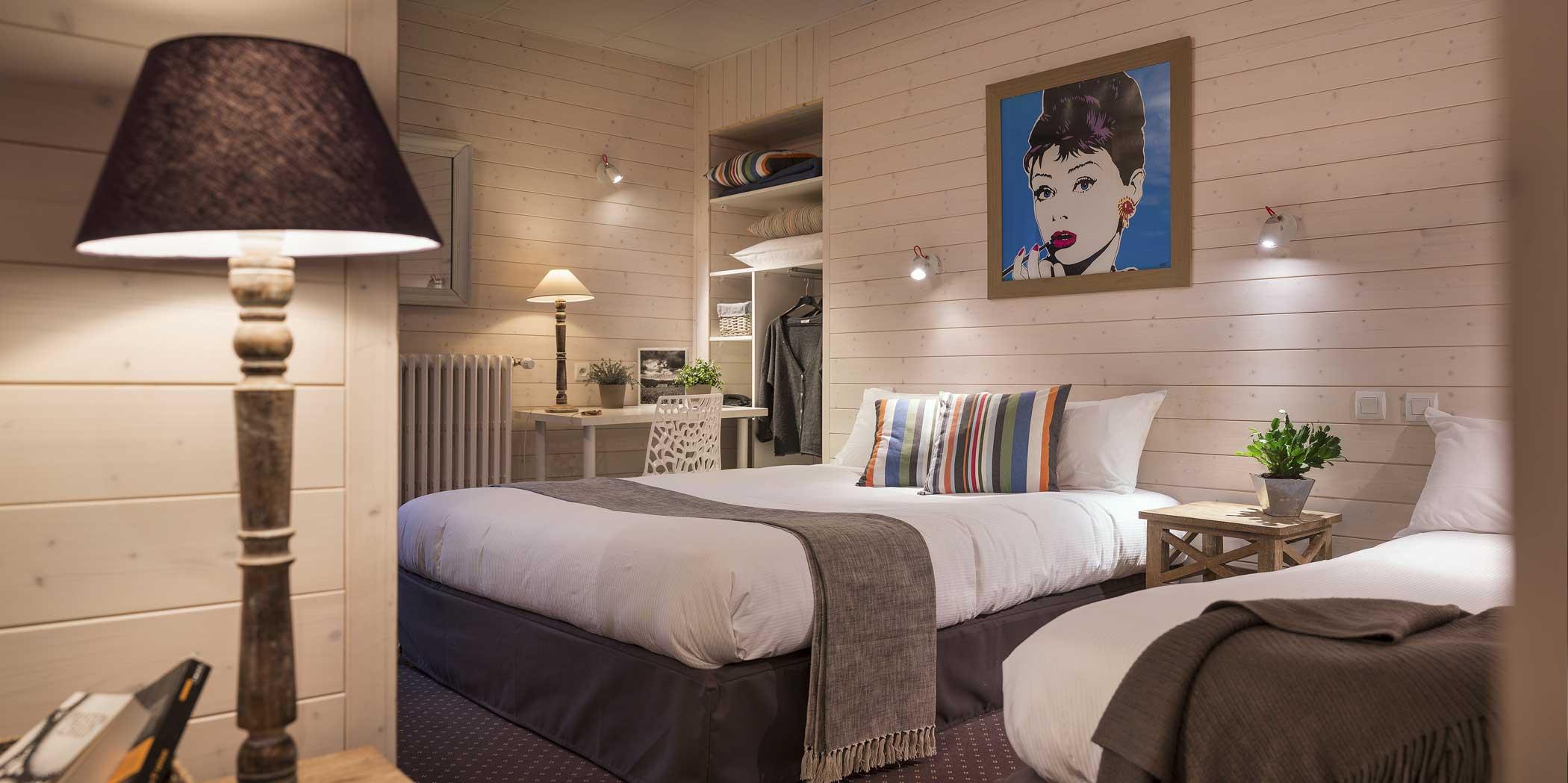Chambre Suite Familiale - sejour Annecy