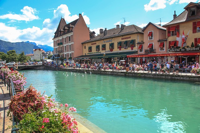 La f te du ca on annecy h tel des alpes for Hotel annecy piscine