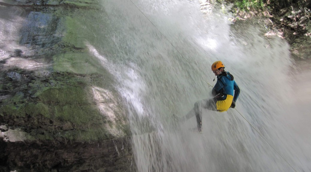canyoning près d'Annecy