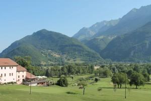 Le golf de Giez près d'Annecy