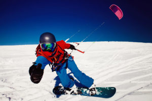 snowkite Annecy