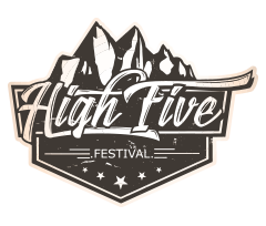 High five festival logo
