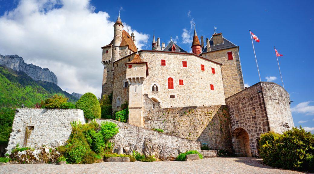 le potager du château aux jardins de Menthon-Saint Bernard